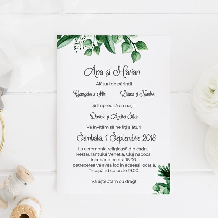 Invitatie De Nunta Prima