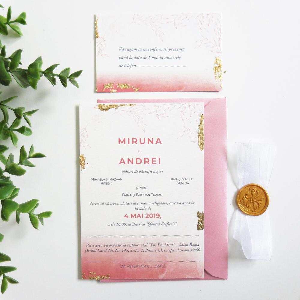 Invitatie De Nunta Lia