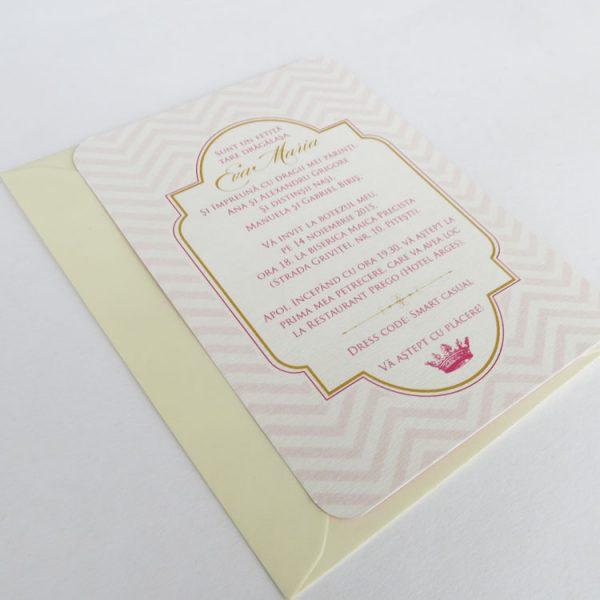 Invitatie De Botez Little Princess
